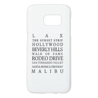 Coque Samsung Galaxy S7 Ville de cas de téléphone de Los Angeles |