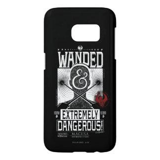 Coque Samsung Galaxy S7 Wanded et affiche voulue extrêmement dangereuse -
