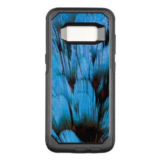 Coque Samsung Galaxy S8 Par OtterBox Commuter Abrégé sur à capuchon bleu plume de Pita