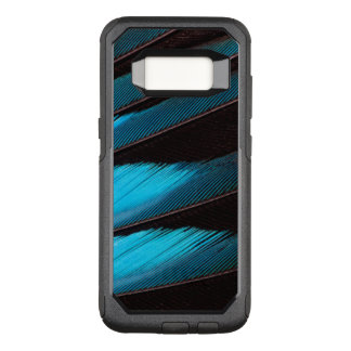 Coque Samsung Galaxy S8 Par OtterBox Commuter Abrégé sur Bleu-Gonflé plume de rouleau