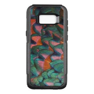 Coque Samsung Galaxy S8+ Par OtterBox Commuter Abrégé sur coloré plumes de faisan