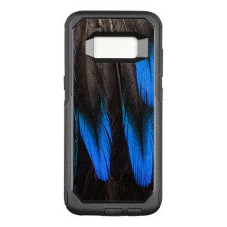 Coque Samsung Galaxy S8 Par OtterBox Commuter Abrégé sur noir et bleu plume