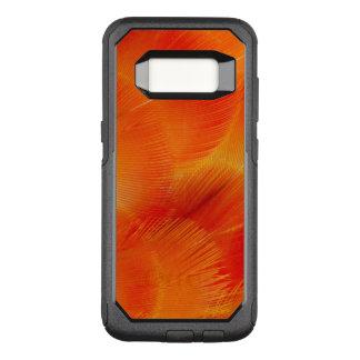 Coque Samsung Galaxy S8 Par OtterBox Commuter Abrégé sur orange plume d'ara de Camelot