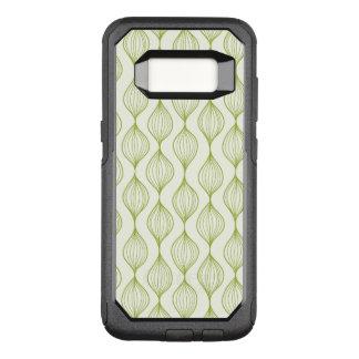 Coque Samsung Galaxy S8 Par OtterBox Commuter Arrière - plan vertical vert de motif d'ogee