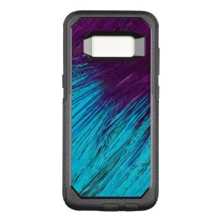Coque Samsung Galaxy S8 Par OtterBox Commuter Bleu un abrégé sur pourpre plume