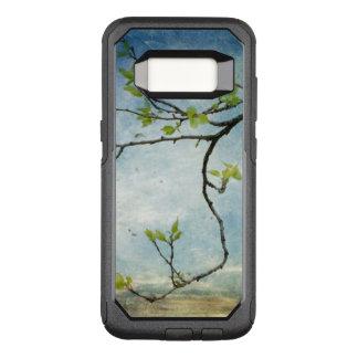 Coque Samsung Galaxy S8 Par OtterBox Commuter Branche d'arbre au-dessus de ciel texturisé