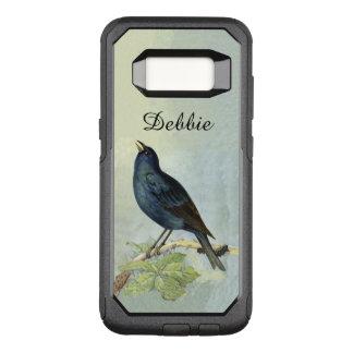 Coque Samsung Galaxy S8 Par OtterBox Commuter Branche noire vintage d'oiseau accrochant