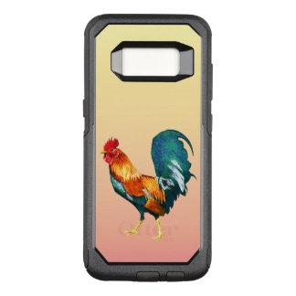 Coque Samsung Galaxy S8 Par OtterBox Commuter Caisse rouge de la galaxie S8 d'oiseau de coq de
