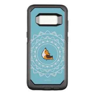 Coque Samsung Galaxy S8 Par OtterBox Commuter Caisse tricolore d'Otterbox de corgi de Namaste