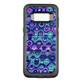 Coque Samsung Galaxy S8 Par OtterBox Commuter Cas abstrait de Samsung S8 Otterbox de pourpre et