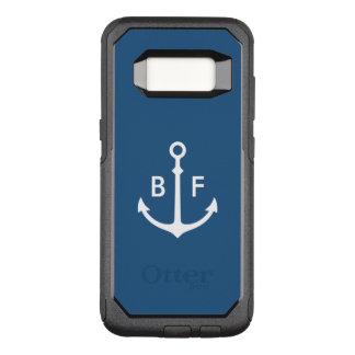 Coque Samsung Galaxy S8 Par OtterBox Commuter Cas nautique de monogramme