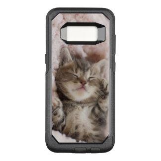 Coque Samsung Galaxy S8 Par OtterBox Commuter Chaton dormant sur la serviette