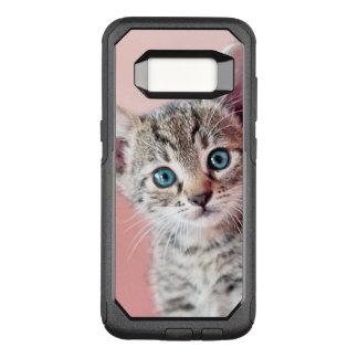 Coque Samsung Galaxy S8 Par OtterBox Commuter Chaton mignon avec les yeux bleus