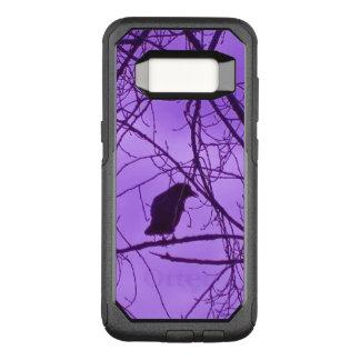 Coque Samsung Galaxy S8 Par OtterBox Commuter Ciel solitaire mystérieux noir de pourpre d'arbres