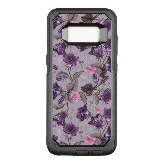 Coque Samsung Galaxy S8 Par OtterBox Commuter cloches de main violettes et motif de papillons