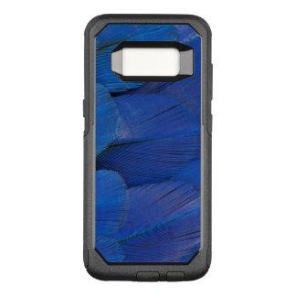 Coque Samsung Galaxy S8 Par OtterBox Commuter Conception bleue de plume d'ara de jacinthe
