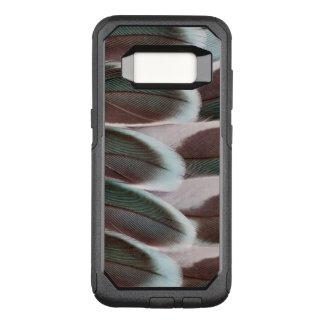 Coque Samsung Galaxy S8 Par OtterBox Commuter Conception de plume d'aile de perruche