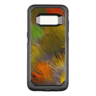 Coque Samsung Galaxy S8 Par OtterBox Commuter Conception de plume de perroquet
