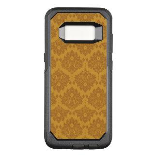 Coque Samsung Galaxy S8 Par OtterBox Commuter Damassé d'or de luxe