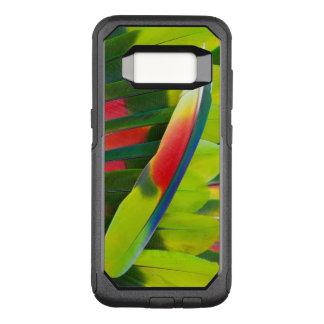 Coque Samsung Galaxy S8 Par OtterBox Commuter D'Amazone de perroquet de plume toujours la vie
