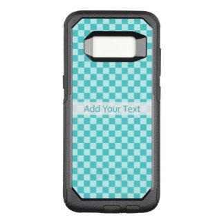 Coque Samsung Galaxy S8 Par OtterBox Commuter Damier classique de combinaison bleue par STaylor