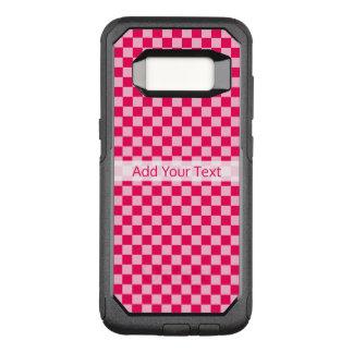 Coque Samsung Galaxy S8 Par OtterBox Commuter Damier classique de combinaison rose par STaylor