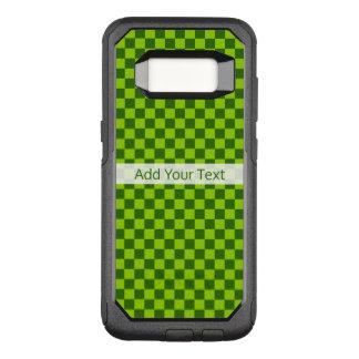 Coque Samsung Galaxy S8 Par OtterBox Commuter Damier classique de combinaison verte par STaylor