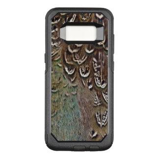 Coque Samsung Galaxy S8 Par OtterBox Commuter Détail de plume de faisan de Melanistic