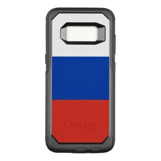 Coque Samsung Galaxy S8 Par OtterBox Commuter Drapeau de cas de la Russie Samsung OtterBox