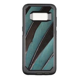 Coque Samsung Galaxy S8 Par OtterBox Commuter Éventée conception bleue de plume