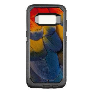 Coque Samsung Galaxy S8 Par OtterBox Commuter Fermez-vous des plumes d'ara