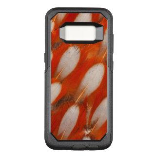 Coque Samsung Galaxy S8 Par OtterBox Commuter Fermez-vous des plumes de Tragopan