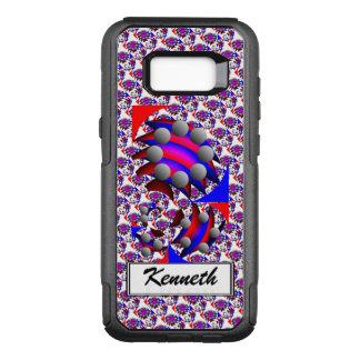 """Coque Samsung Galaxy S8+ Par OtterBox Commuter Fibonacci """"poisson"""" par Kenneth Yoncich"""