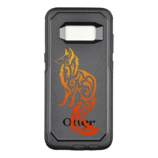 Coque Samsung Galaxy S8 Par OtterBox Commuter Fox rouge Kitsune de tribal de Firey