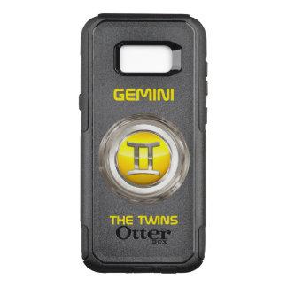 Coque Samsung Galaxy S8+ Par OtterBox Commuter Gémeaux - le signe d'horoscope de jumeaux