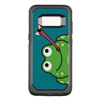 Coque Samsung Galaxy S8 Par OtterBox Commuter Grenouille et mouche drôles