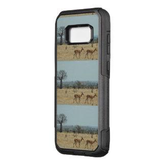 Coque Samsung Galaxy S8+ Par OtterBox Commuter La branche d'arbre de baobab personnalisent des