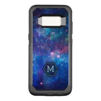 Coque Samsung Galaxy S8 Par OtterBox Commuter Le ciel nocturne moderne d'abrégé sur bleu se
