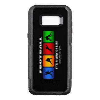 Coque Samsung Galaxy S8+ Par OtterBox Commuter Le football frais c'est un mode de vie