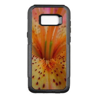 Coque Samsung Galaxy S8+ Par OtterBox Commuter Le rose couleur pêche ferment le lis