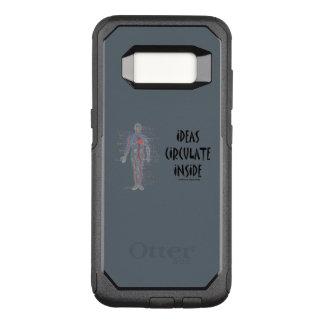 Coque Samsung Galaxy S8 Par OtterBox Commuter Les idées circulent à l'intérieur de l'humour