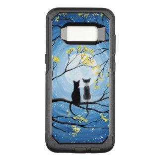 Coque Samsung Galaxy S8 Par OtterBox Commuter Lune lunatique avec des chats