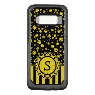 Coque Samsung Galaxy S8 Par OtterBox Commuter Monogramme souriant de point de polka