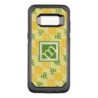 Coque Samsung Galaxy S8 Par OtterBox Commuter Motif d'ananas - monogramme à angles