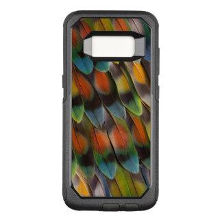 Coque Samsung Galaxy S8 Par OtterBox Commuter Motif de plume de perruche