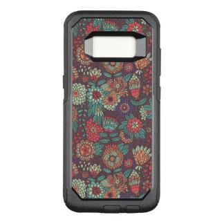 Coque Samsung Galaxy S8 Par OtterBox Commuter Motif floral coloré dans le style de bande