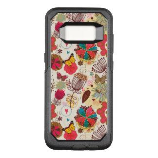 Coque Samsung Galaxy S8 Par OtterBox Commuter Motif floral dans le rétro style 4