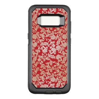Coque Samsung Galaxy S8 Par OtterBox Commuter Motif floral d'arrière - plan de damassé