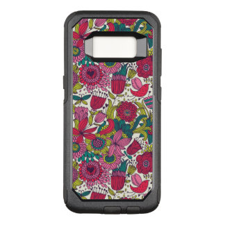 Coque Samsung Galaxy S8 Par OtterBox Commuter Motif floral lumineux