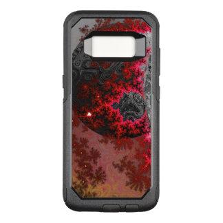 Coque Samsung Galaxy S8 Par OtterBox Commuter Motif galactique vif de galaxie de fractale de